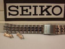 Seiko Watch Band SNE031,SNE032,SNE034 Bracelet 18mm Steel Silver tone