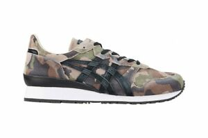asics Onitsuka Tiger TIGER ALLY DELUXE 1183A446 Hunter Green × Black With bag
