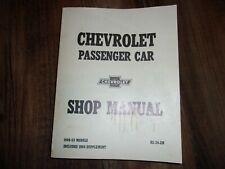 1949-1954 Chevrolet Passenger Car Shop Manual