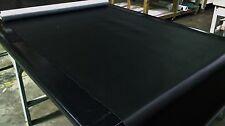 Marine Vinyl Fabric Classic Black 30 Yards Outdoor Auto Boat Upholstery 54
