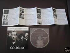 Japan Promo only CD Coldplay Gorillaz Massive Presley