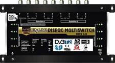 HD-LINE PRO MULTISWITCH 9/8 - 2 SATELLITEN 1 TER / MULTISCHALTER 8 RECEIVERS