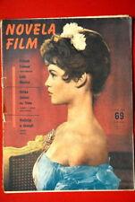 BRIGITTE BARDOT ON COVER 1955 RARE EXYU MAGAZINE