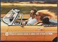 MG MGB Sports Car Sales Brochure Sept 1976 #3210