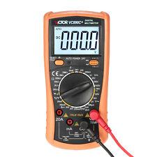 Digital meter Multimeter True RMS VALOR AFFECTS AC/DC Temperature
