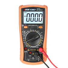 Polimetro Multimetro True RMS VALOR EFICAZ AC/DC Temperatura Capacimetro hFE
