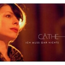 CÄTHE - ICH MUSS GAR NICHTS CD 12 TRACKS NEU