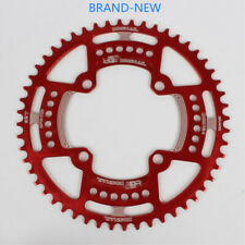 BDSNAIL AL Alloy 104BCD Round ChainWheel Narrow Wide BMX Bike Chainring 44-52T
