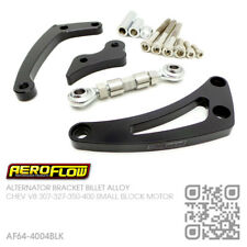AEROFLOW BILLET ALTERNATOR LHS LOW MOUNT BRACKET [CHEVY SBC V8 307-327-350-400]B