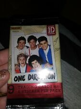 One Direction Trading Cards Pack *NEW* (9 Collectible 1D Trading Cards)