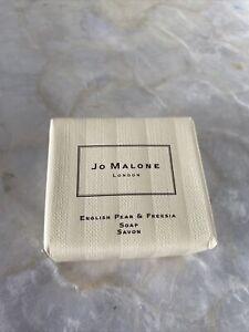 NEW! Jo Malone English Pear & Freesia Soap/Savon 50g TRAVEL SIZE