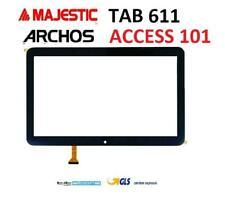 Touch Vetro Majestic Tab 611 ARCHOS ACCESS 101 3G DP101391-F1 NERO