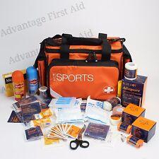Premium avanzata SPORT Squadra Pronto Soccorso Kit borsa e accessori; per lesioni sportive