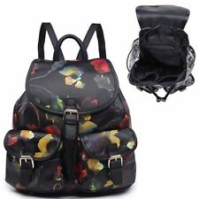 Synthetic Floral Backpack Handbags
