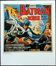 BATMAN AND ROBIN 1949 FILM MOVIE POSTER PAGE . F86