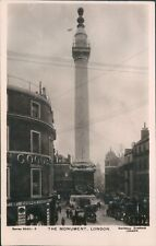 London the monument 1909; Davidson bros real photo 5033 -2