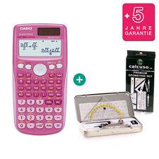 Casio fx 85 GT plus Pink calculadora + geometrieset y garantía