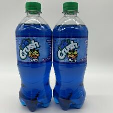 Crush Sour Patch Kids Berry 20oz Bottle 2 Pack New Sealed Pepsi Exotic Sour Soda