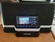 Sirius Xm Radio Portable Speaker Dock Boom Box Sxabb2 w Ac Adapter/cords Works