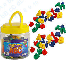 Magnetic ABC Letters Numbers Symbols Alphabets Tub X 68 Characters Set