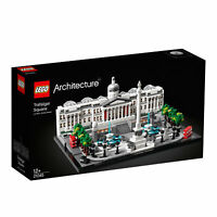 21045 LEGO Architecture Trafalgar Square Set with London Landmark 1197 Pieces
