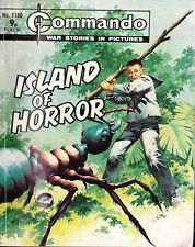 Commando For Action & Adventure Comic Book Magazine #1180 ISLAND OF HORROR