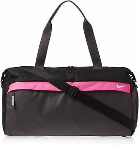 Women Nike Radiate Club Duffle Bag, BA5528 011 Black/Thunder Grey/White
