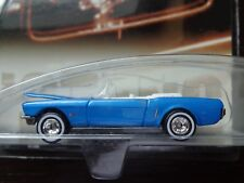 1965 FORD MUSTANG CONVERTIBLE AUTO MILESTONES HOT WHEELS REAL RIDERS 1/64 NEW