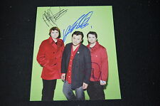 MANIC STREET PREACHERS signed Autogramm 20x25 cm In Person komplette Band