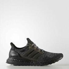 Adidas Ultra Boost 3.0 Triple Black Silver Grey Gray BA8923 8 US, 7.5 UK 41 1/3