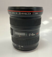 Canon EF 17-40mm f/4 L USM Wide Angle Zoom Lens