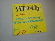 "Hithouse : jack to the sound of the underground (Vinyle 45 tours / 7"" Vinyl)"