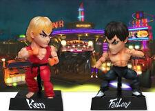 "Ken & Fei Long Ultra Street Fighter IV Kids Logic 4"" Action Figure GM02 - 2 Pack"