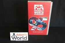 """Duke VHS Video """"FIA Formula 1 World Championship 1995"""" (MM1)"""