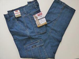 Wrangler Men's Cargo Jeans 6 Pocket  - Relaxed Fit - 70LGWDS