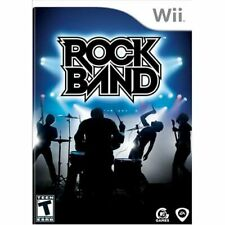 Rock Band Game Only For Wii And Wii U Very Good 5E