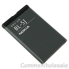 Genuine Nokia BL-5J 1430 mAh Battery 5228 5230 5800 C3-00 N900 X6 Lumia 520