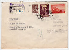 SU/Russia-Mi.2272+2308+Definitive,genuine used on R-cover to Belgium