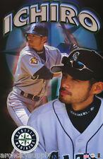 Poster :Mlb Baseball : Ichiro Suzuki - Seattle - Free Shipping! #5121 Lp45 S