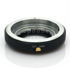 Camera Adapter For Voigltlander Retina DKL Lens To M42 Chinon Mamiya Yashica