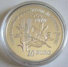 Frankreich 10 Euro 2010 Semeuse 50 Jahre Neuer Franc Silber