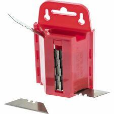 New listing 100 Standard Utility Knife Blades Box Cutter Razor Safety Dispenser Kit (2 Pcs)