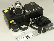 Nikon D Df 16.2MP Digital Camera & 50mm f/1.8 Lens -Boxed, MINT, Just 1336 shots