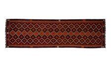 16'10 x 5' Long Handmade Afghan Tribal Kilim Wool Runner Rug Kelim Carpet #5042