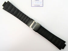 Original Citizen Endeavor 4-S084334 / CA0448-08E Black Rubber Watch Band Strap