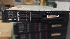 HP DL380 G6 2x Quad Core Xeon X5550 @2.67GHz 128GB RAM 4x 72GB #30