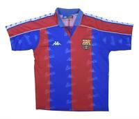 Barcelona 1992-95 Authentic Home Shirt (Fair) M Boys Soccer Jersey