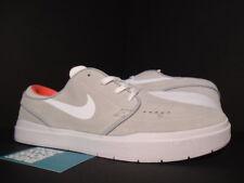 2016 Nike Dunk STEFAN JANOSKI HYPERFEEL SB WOLF GREY WHITE CRIMSON ORANGE RED 10