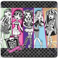 "Monster High Party Supplies 10.25"" Dinner Lunch Plates 8 count"