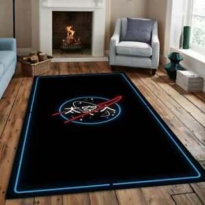 Nasa Rug,Area Rug,Non Slip Floor Carpet,Teen's Carpet 100x150 cm,63